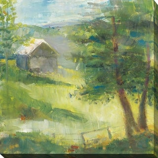 "Sue Schlabach ""Gray Barn"" Giclee Stretched Canvas Wall Art (4 options available)"