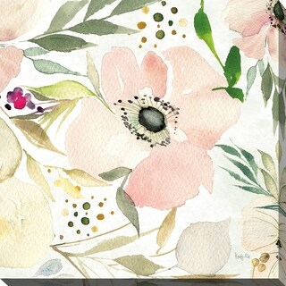 """Kristy Rice """"The Joy of White III"""" Giclee Stretched Canvas Wall Art"""