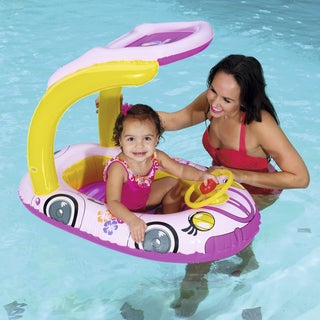 H2OGO! UV Careful 38.5 Inch Kiddie Car Pool Float