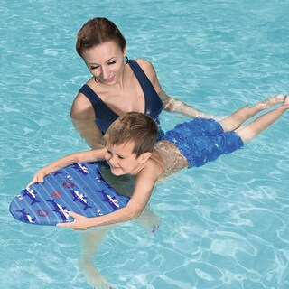 Swim Safe Blue Boys' Fabric Kickboard