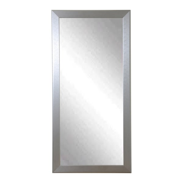 Designer Silver Full Length Mirror