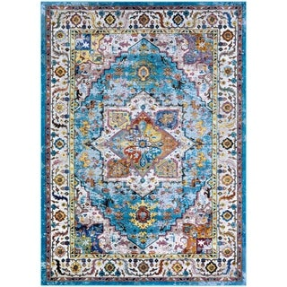 Nomad Nimes Multi Color Area Rug - 8' x 10'9""