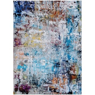 "Nomad Anitbes Multi Color Area Rug - 5'3"" x 7'6"""