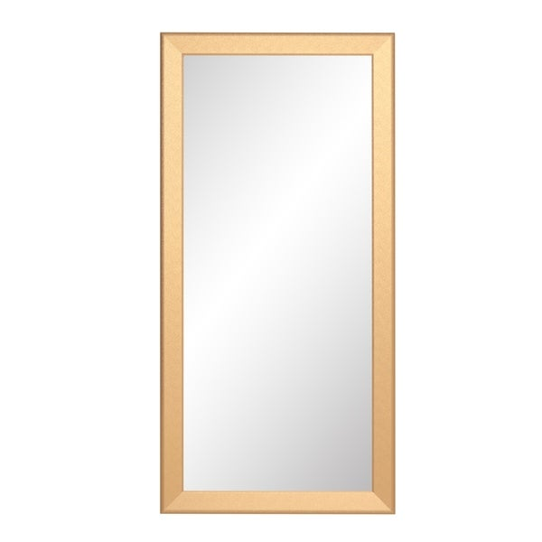 Shop Designer Gold Full Length Mirror Free Shipping