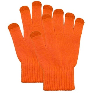 Touchscreen Gloves for Phone, Ipad or Gps Touchscreen, Red (Option: Orange - One Size Fits Most)