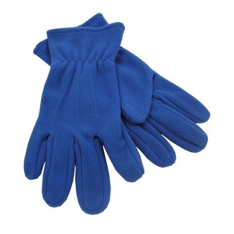 Outdoor Winter Fleece Gloves,Royal
