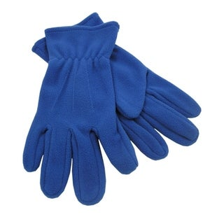 Outdoor Winter Fleece Gloves,Royal