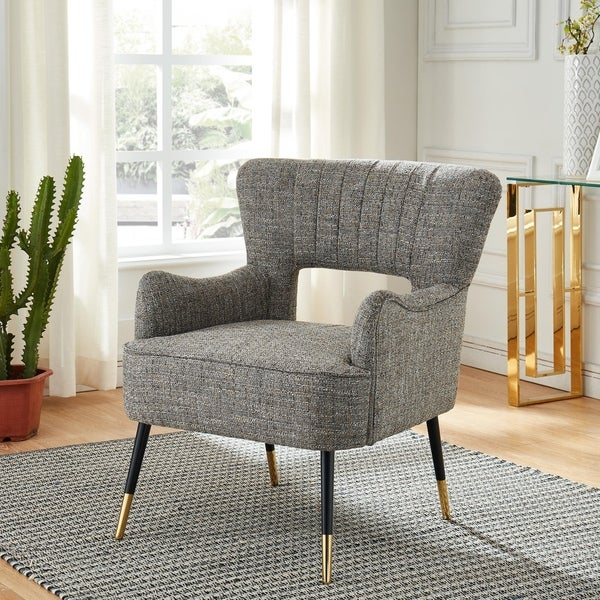 Shop Vince Accent Chair Free Shipping Today Overstock Com 20455010