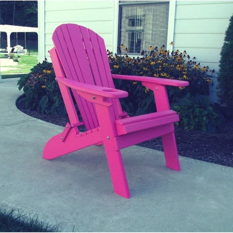 Sensational Buy Adirondack Chairs Pink Water Resistant Online At Dailytribune Chair Design For Home Dailytribuneorg