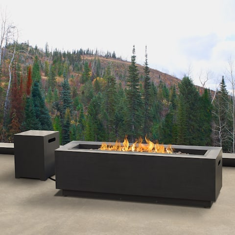 Real Flame Lanesboro Propane Fire Pit w/ NG Conversion