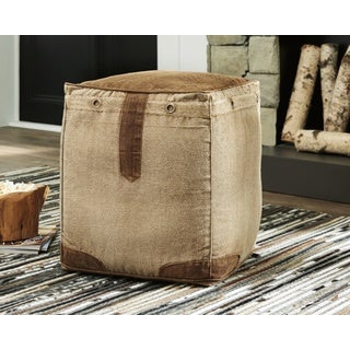Signature Design by Ashley Cinnamon Pouf