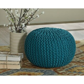 Signature Design by Ashley Nils Teal Pouf