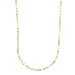 Pori Jewelers 18K Solid Gold Marina 16 inch Chain necklace BOXED