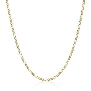 Pori Jewelers 18k Solid Gold Figaro Chain necklace