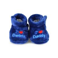 TeeHee Kids Fun and Cozy Baby Fleece Booties 2-Pack