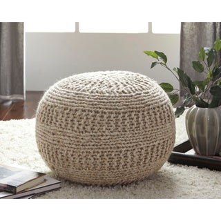 Signature Design by Ashley Benedict Natural Pouf