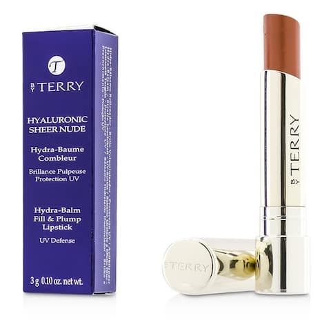 By Terry Hyaluronic Sheer Nude Lipstick 4 Sheer Glow