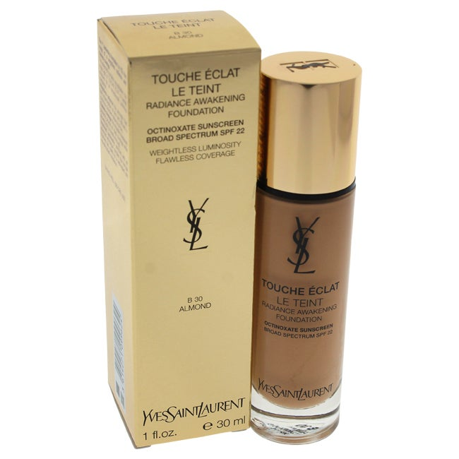 Yves Saint Laurent Le Teint Touche Eclat Radiance Awakening Foundation SPF 22 B 30 Almond