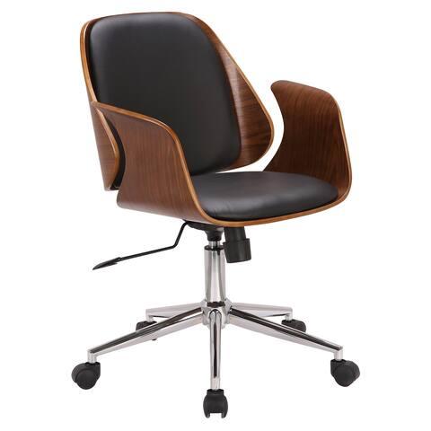 Armen Living Santiago Mid-Century Office Chair
