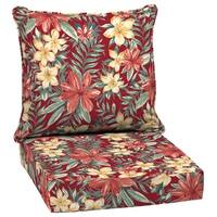 Arden Selections Ruby Clarissa Tropical Outdoor Deep Seat Set