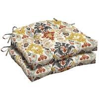 Arden Selections™ Topaz Kenda Ikat Outdoor Wicker Seat Cushion (2-Pack)