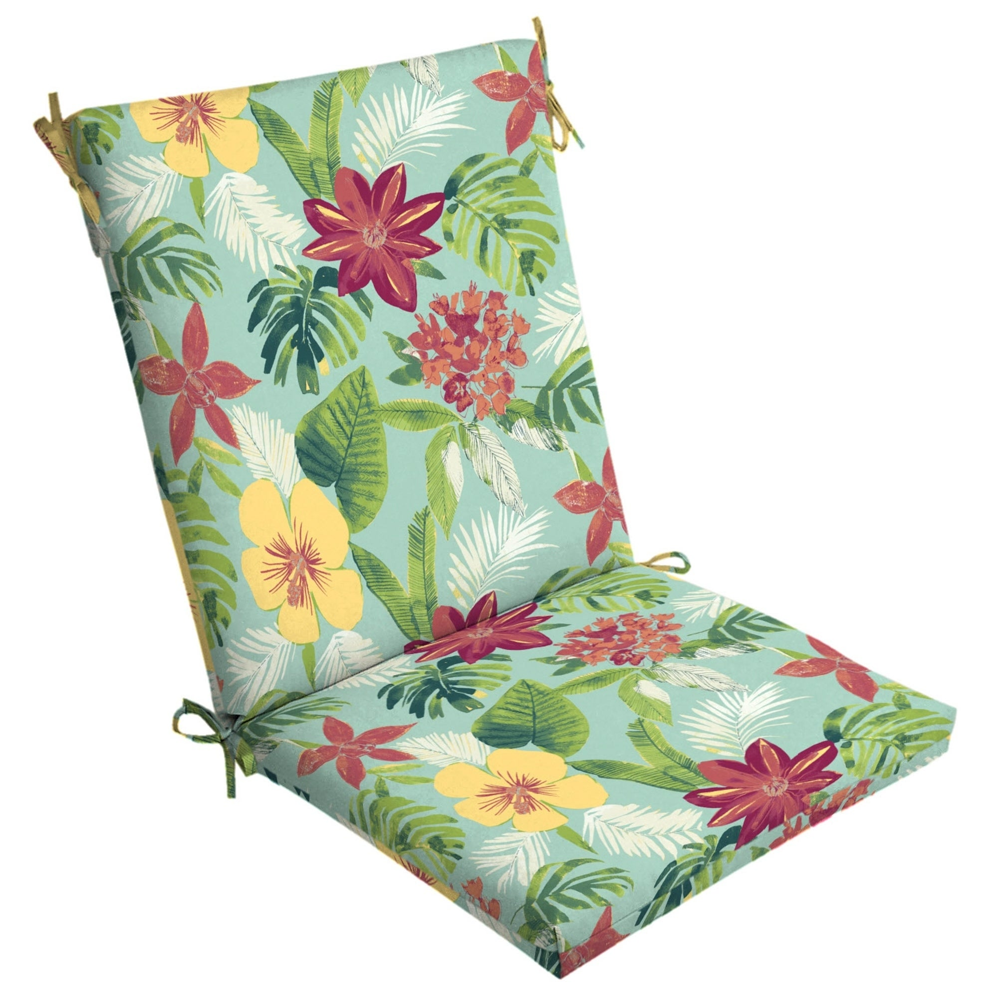 Arden Selections Elea Tropical Outdoor Clean Finish Chair Cushion