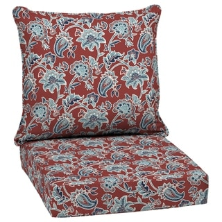 Link to Arden Selections Caspian Outdoor Deep Seat Set - 46.5 in L x 24 in W x 5.75 in H Similar Items in Patio Furniture