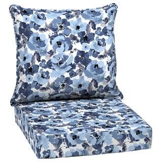 Arden Selections Garden Delight Outdoor Deep Seat Set - 46.5 in L x 24 in W x 5.75 in H