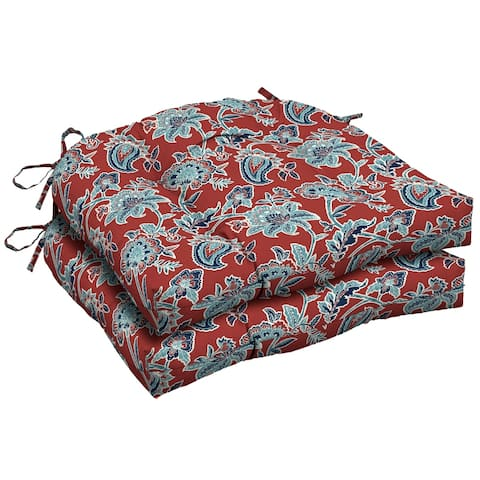 Arden Selections Caspian Outdoor Wicker Seat Cushion 2-Pack - 18 in L x 20 in W x 5 in H