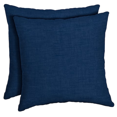 Arden Selections Sapphire Leala Outdoor Square Pillow 2-Pack