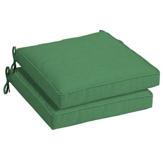Link to Arden Selections Moss Leala Outdoor Seat Cushion 2-Pack - 21 in L x 21 in W x 5 in H Similar Items in Outdoor Cushions & Pillows