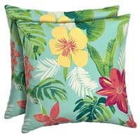 Arden Selections™ Elea Tropical Outdoor Square Pillow (2-Pack)