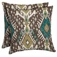 Arden Selections Tenganan Outdoor Square Pillow (2-Pack)
