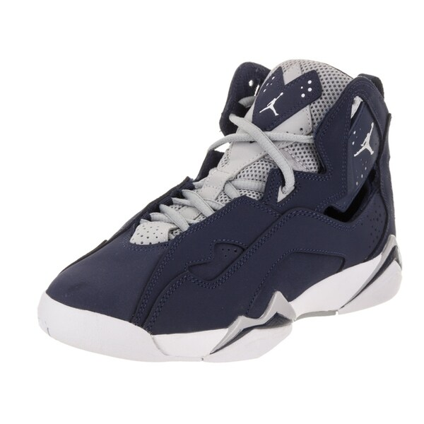 buy popular 49ed2 1cf3c Nike Jordan Kids Jordan True Flight BG Basketball Shoe