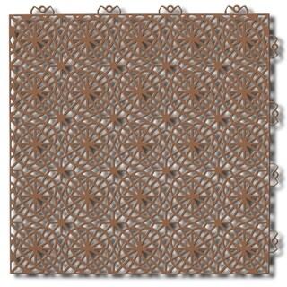 """Mats Inc. Bergo XL Loose Lay/Snap Tiles, 14.8"""" x 14.8"""", 14 Pack"""