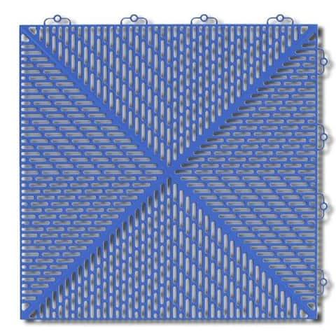 "Mats Inc. Bergo Soft Wet Area Floor Tiles, 14.8"" x 14.8"", 35 Pack"