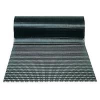 Mats Inc. Airpath Safe Tread Ergonomic Comfort Utility Mat, Black, 2' x 10'