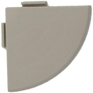 """Mats Inc. Bergo XL Loose Lay/Snap Tile Corner Trim, 2.5"""" x 25"""", 4 Pack"""
