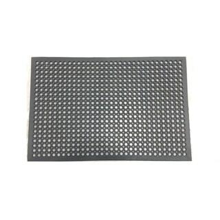 Mats Inc. Cushion Safe Kitchen Mat, Black, 3' x 5'