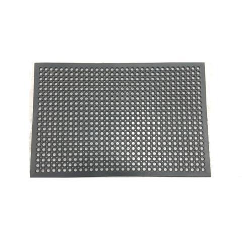 """Mats Inc. Cushion Safe Kitchen Mat, Black - 2'8"""" x 3'11"""""""
