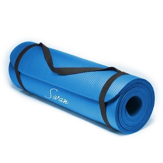 Sivan Health and Fitness 1/2-Inch 71-Inch Long Yoga Mat