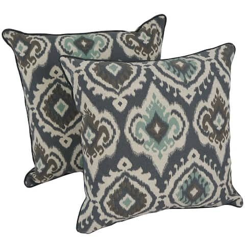 Blazing Needles 17-inch Designer Throw Pillows (Set of 2)