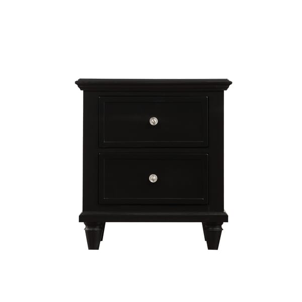 Light Gray Nightstand: Shop Emerald Home Home Décor IV Light Gray Nightstand With