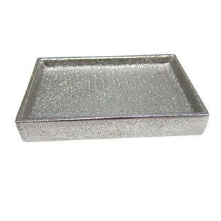 Croscill Roebling Stripe Soap Dish