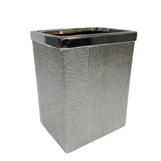 Croscill Roebling Stripe Wastebasket