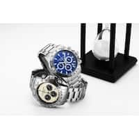 Stuhrling Original Men's Chronograph Watch Japanese Quartz, Water Resistant 100 Meters, Brushed Stainless Steel Bracelet