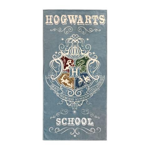 Harry Potter Hogwarts School Cotton Beach Towel