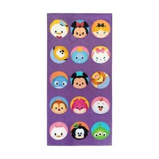 Disney Tsum Tsum Dots Cotton Beach Towel