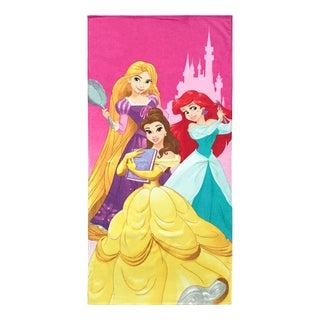 Disney Princess We Are Strong Cotton Beach Towel