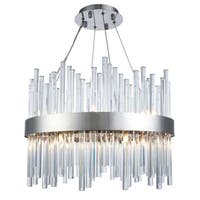 Fleur Illumination 14 light Chrome Chandelier
